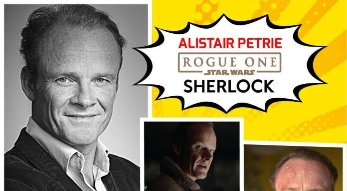 alistair petrie comic con europe rotterdam